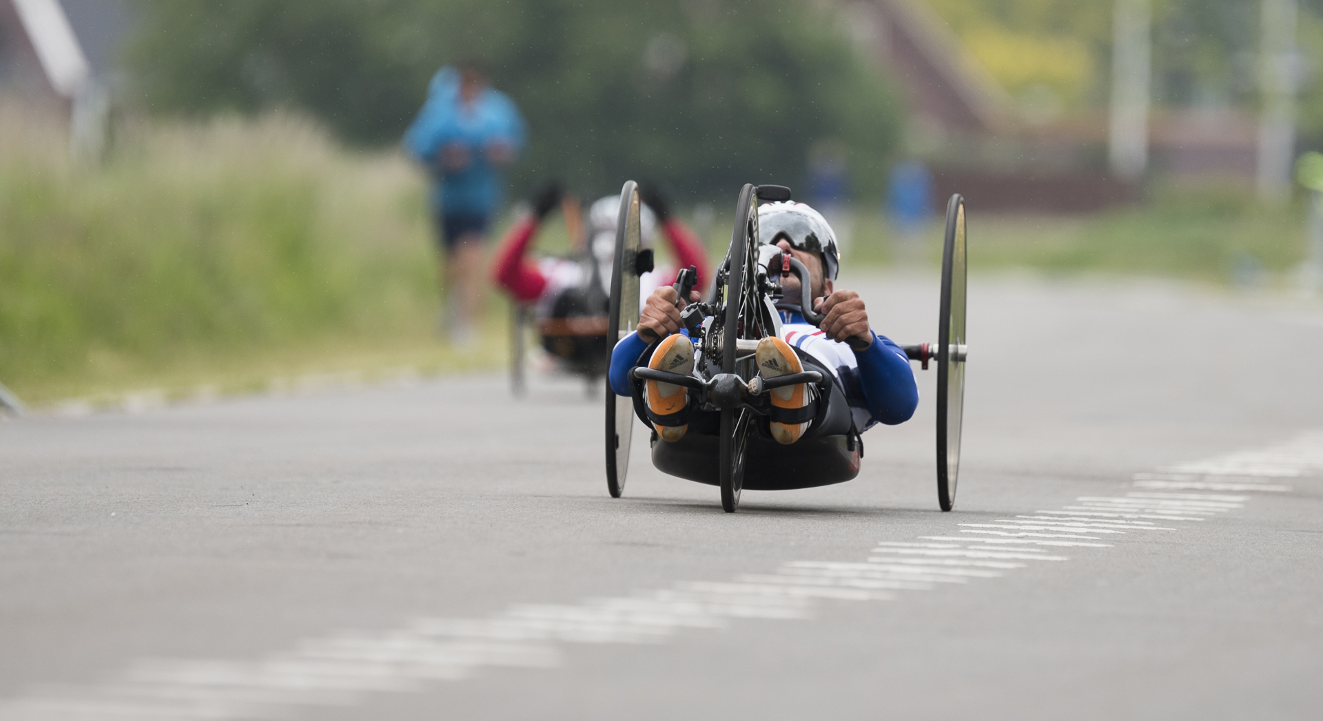 31-May-2015  Het Lint, Utrecht, Nederland  Individual time-trials Handcycling  Para-cycling Weekend Utrecht NL, Tour de France event